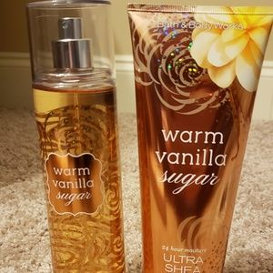 Shea body cream & Fragrance Mist